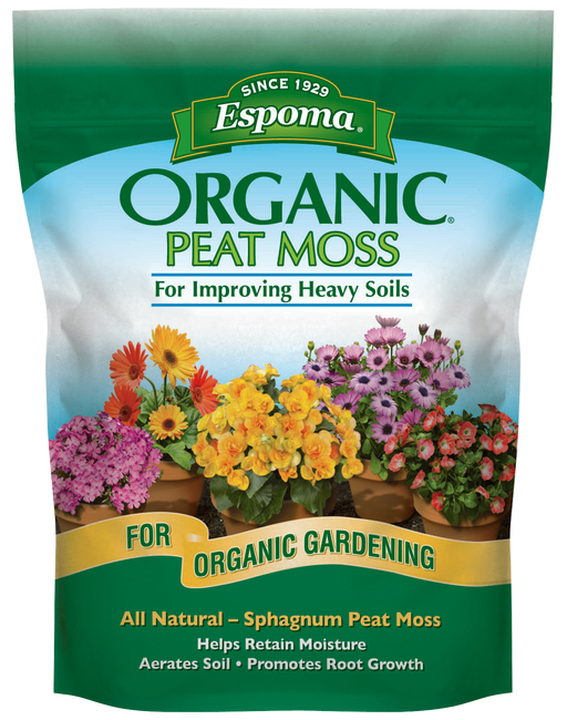 Espoma Organic Peat Moss For Improving Heavy Soils