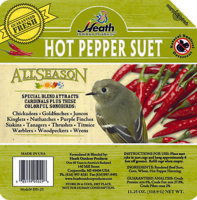 Heath Outdoor Products Suet: 11 oz.