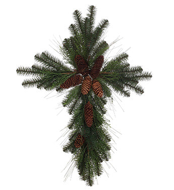 Douglas Fir Cross (Lifelike)