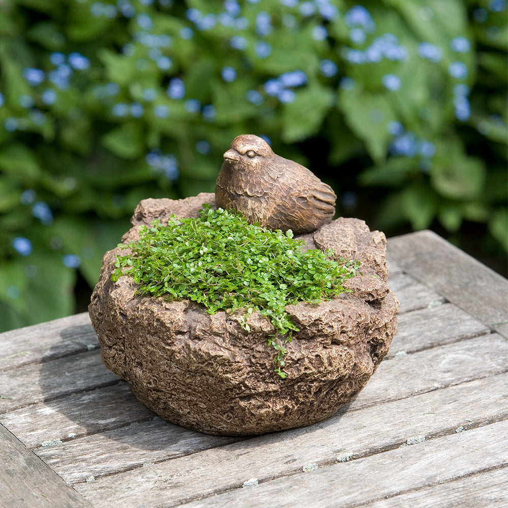 Mini Bird Garden Planter