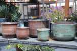 Low English Tumbled Pots