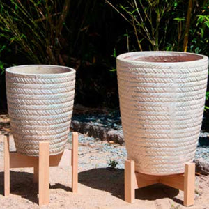 Rope Printed Planter