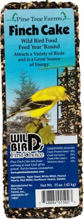 Pine Tree Farms Finch Seed Bar: 15 oz