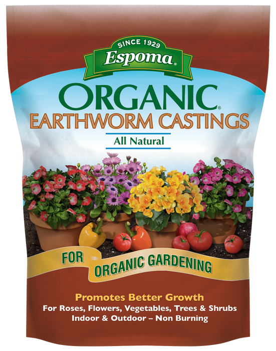 Espoma Organic Earthworm Castings All Natural