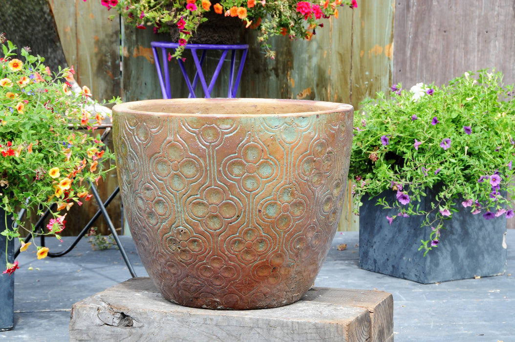 Clover Pattern Planter
