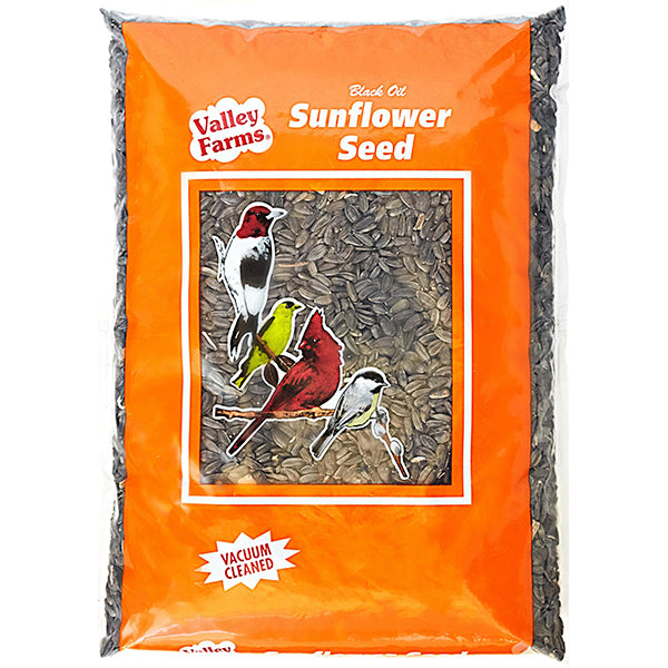 Valley Farms Black Oil Sunflower Birdseed