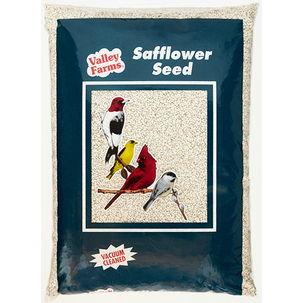 Valley Farms Safflower Seed Wild Bird Food