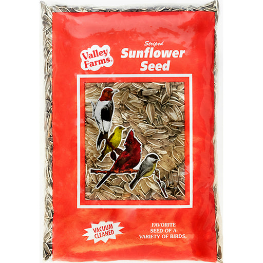 Valley Farms Striped Sunflower Seed Wild Bird Food