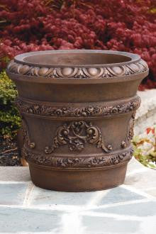 "22"" Egg & Dart Scroll Planter"