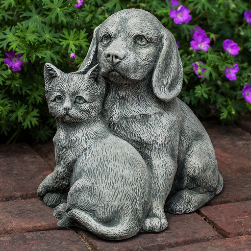 Fur-Ever Friends Garden Statue