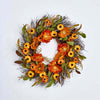 "22"" Fall Flower Wreath"