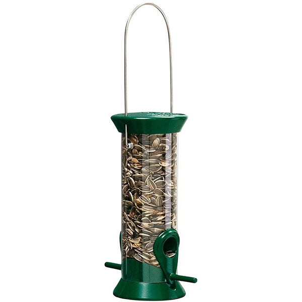 "Droll Yankee 8"" Sunflower Tube Bird Feeder"