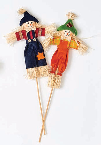 "9"" Scarecrow on Stick"