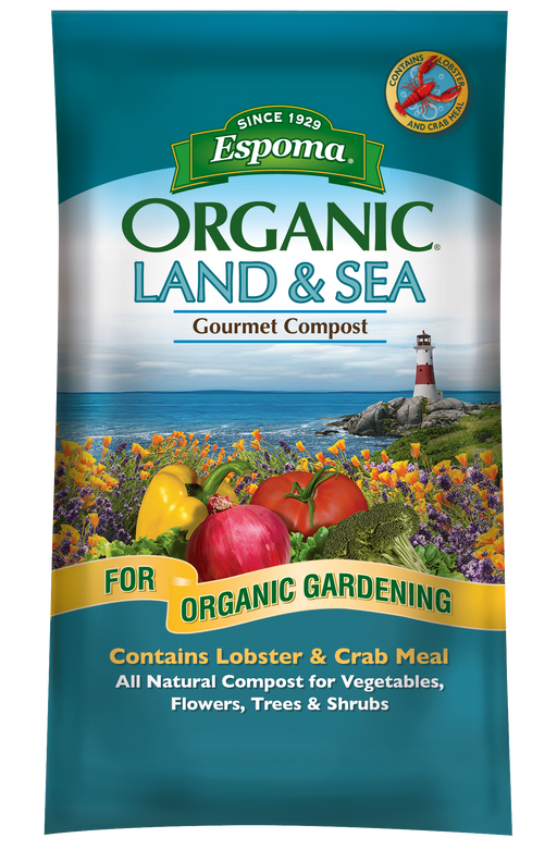 Espoma Organic Land & Sea Gourmet Compost