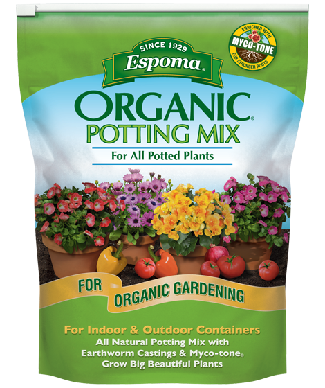Espoma Organic Potting Mix For All Potted Plants