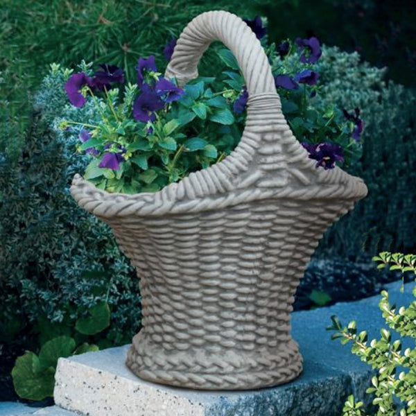 Small Victorian Basket Planter