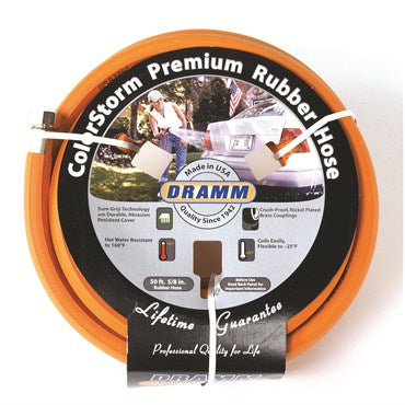 Dramm Colorstorm Premium Rubber Hose 50ft 5/8in