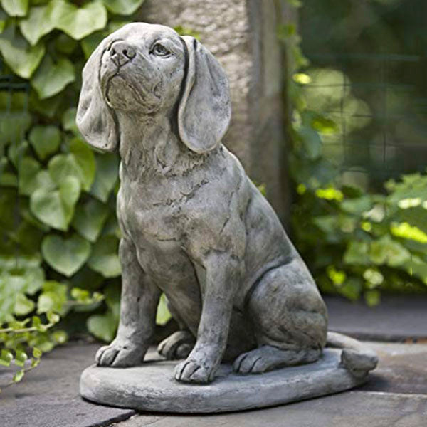 "20"" Scout Dog Statue"