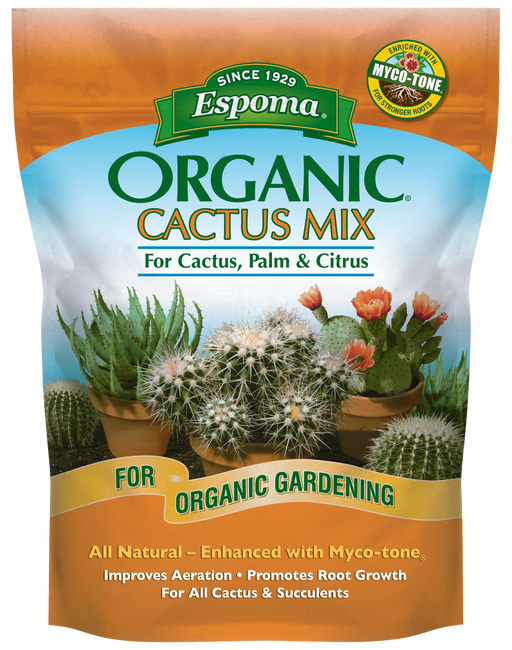 Espoma Organic Cactus Mix For Cactus, Palm & Citrus
