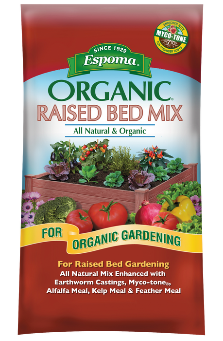 Espoma Organic Raised Bed Mix All Natural & Organic