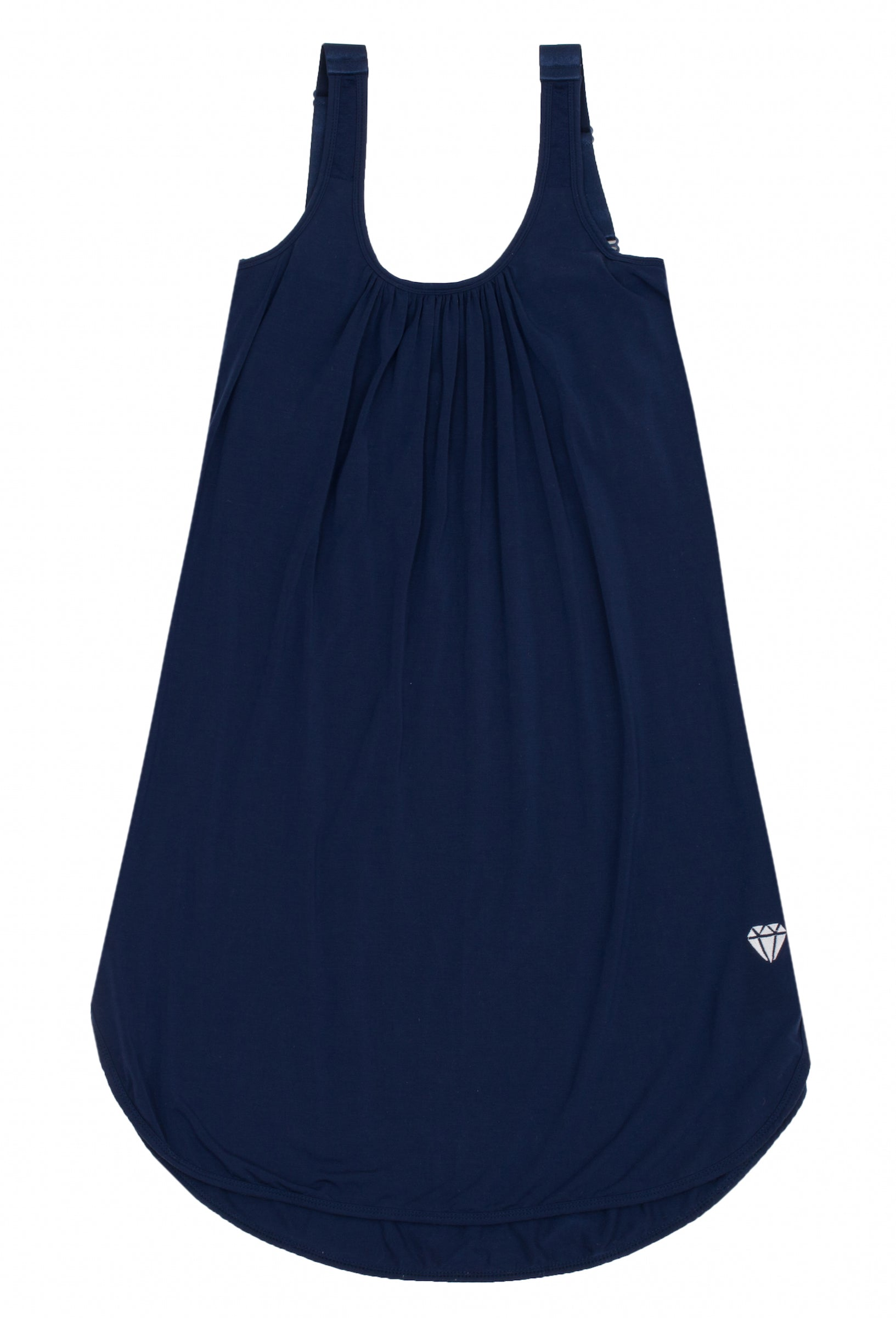 navy nightgown support
