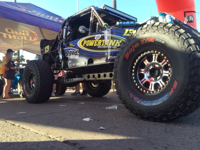 Streetwise supporting JT Taylor in running the 2017 NORRA Mexican 1000