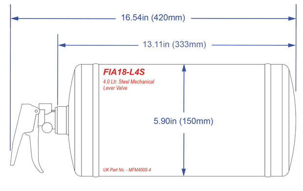 FIA 2018 Fire Suppression System FIA18-L4S - Streetwise