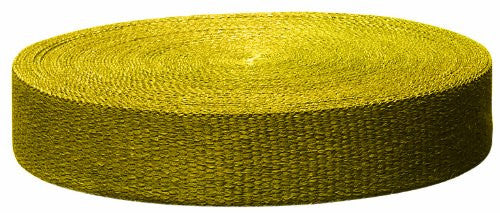 Yellow HP Color Exhaust Wrap Premium - Streetwise