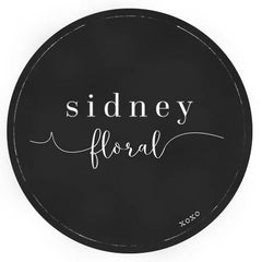 Sidney Floral And Gift Logo