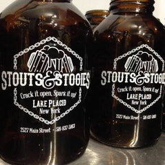Stouts & Stogies Growlers