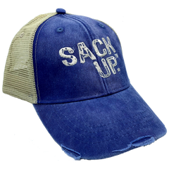 Denim SACKUP Snapback Hat