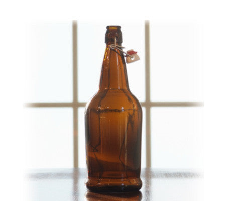 EZ Cap 1 Liter Flip Top Bottles - Single