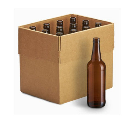 22 oz Beer Bottles - Case Of 12