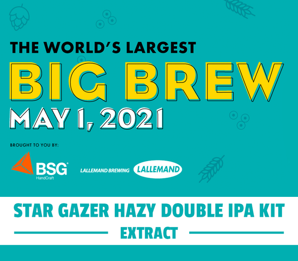 Star Gazer Hazy Double IPA Extract Kit - Big Brew 2021