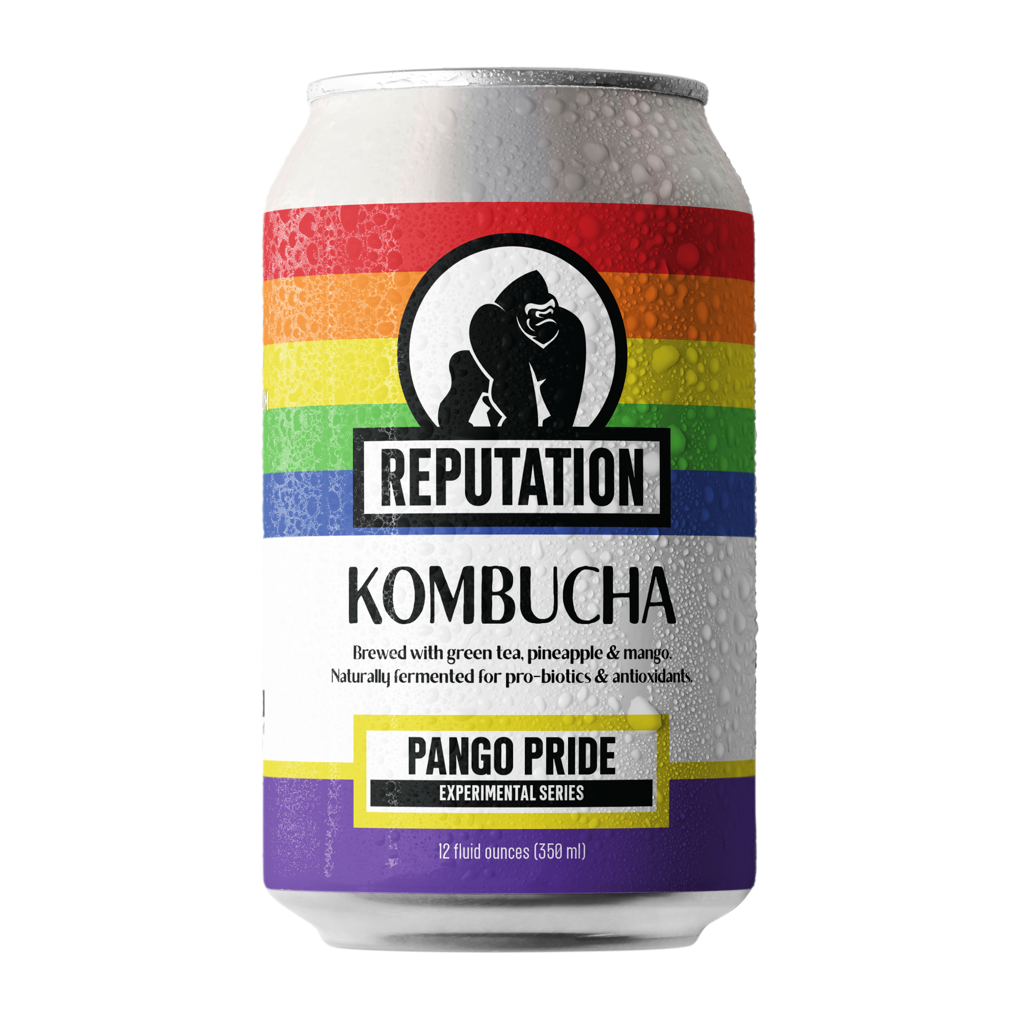 PANGO Pride Kombucha - Reputation Beverage