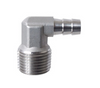 "1/2"" x 3/8"" Elbow Barb MPT - Stainless"