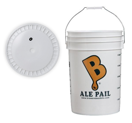 6.5 Gallon Fermentation Bucket w/ GROMMETD LID