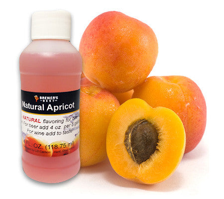 All Natural Apricot Fruit Flavoring (4 oz)