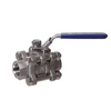 Stainless 3 Piece Ball Valve 1/2""