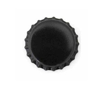 Black Oxygen Barrier Bottle Caps - 144 Count