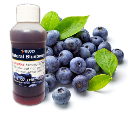 All Natural Blueberry Fruit Flavoring (4 oz)