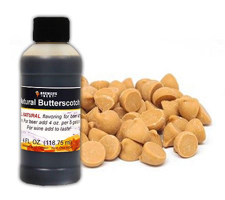 All Natural Butterscotch Flavoring (4 oz)