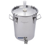 Chapman UniVessel 14 Gallon Stainless Fermentor - Ported