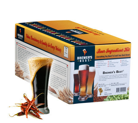 Chocolate Chili Stout Kit - Brewer's Best