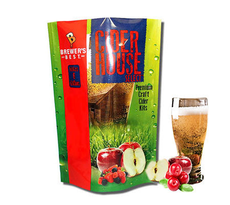 Cranberry Apple Cider Kit - Cider House Select