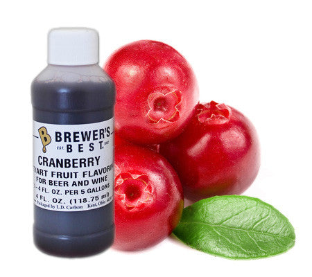 Cranberry Fruit Flavoring (4 oz)
