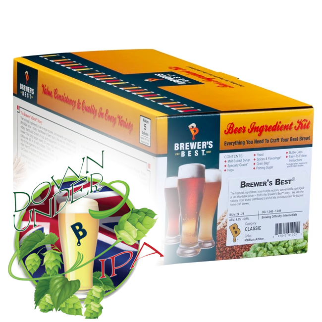 Down Under IPA Kit (Seasonal) - Brewer's Best