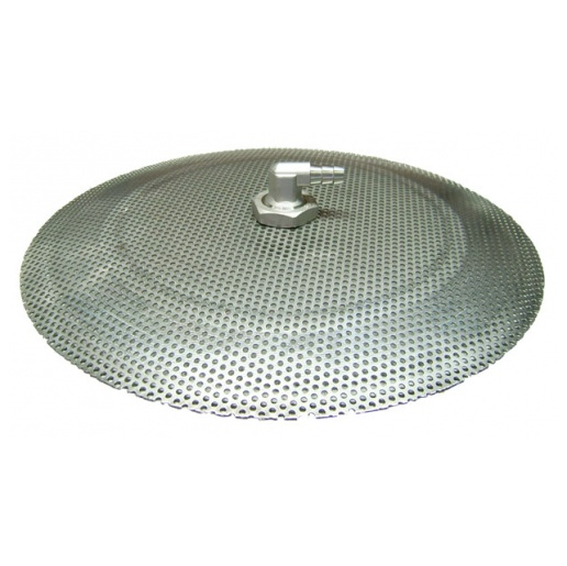 "Stainless Domed False Bottom - 12"" 10 Gal. Cooler"