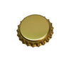 Gold Oxygen Barrier Bottle Caps - 144 Count