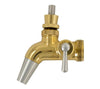 Intertap Flow Control Gold Plated Stainless Faucet